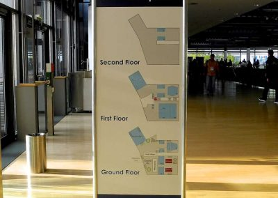 028 - Stand sign AG1 - floorplan