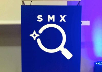 109 - Lectern sign - front covering
