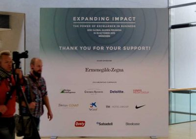 212 - Image wall - sponsor placement